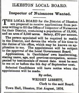 32 Local Board 1876