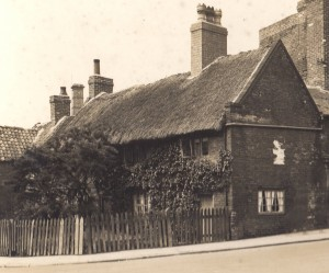 42bb thatched cottages in south st 1933
