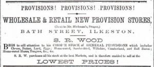 57 SR Wood advert