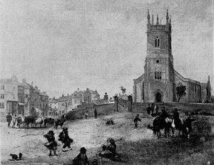 The Market Place in 1850