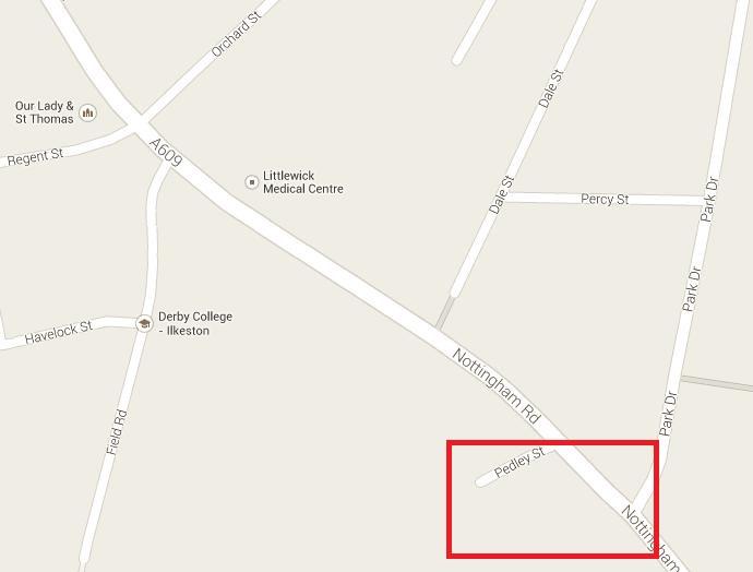 Gilbert Place map