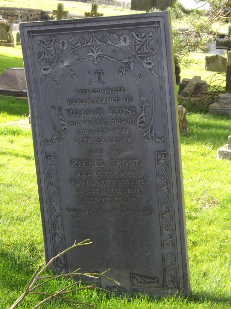 Gravestone William Frost