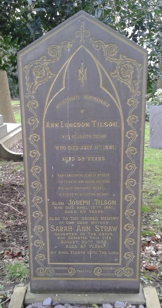 Ann Longdon Tilson
