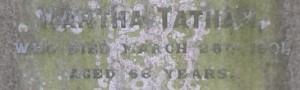 Martha Tatham 1901