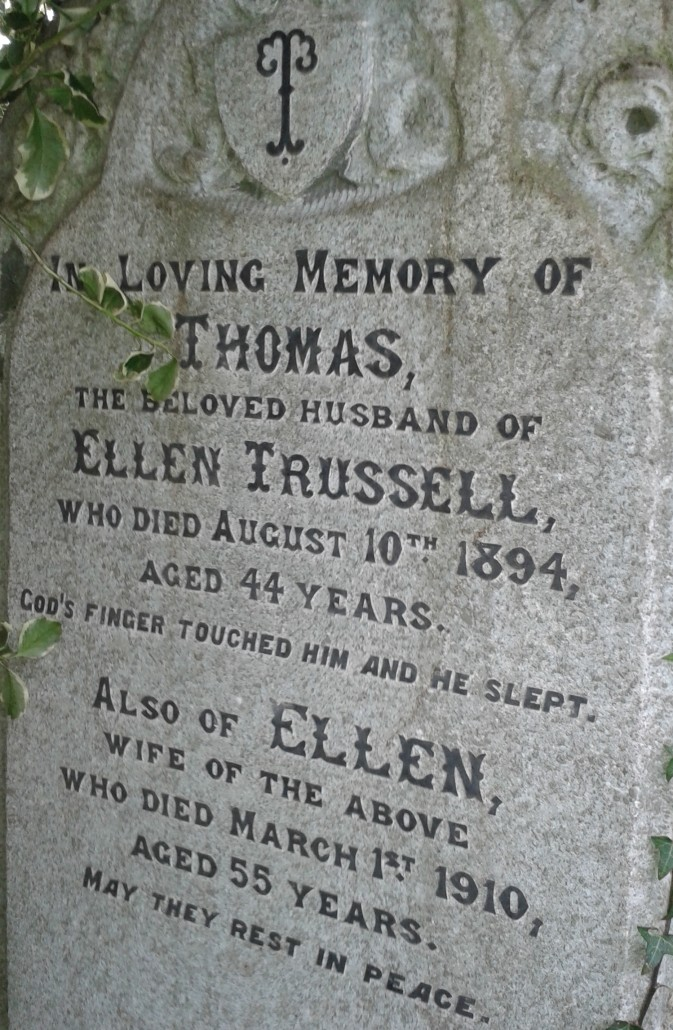 Trussell grave
