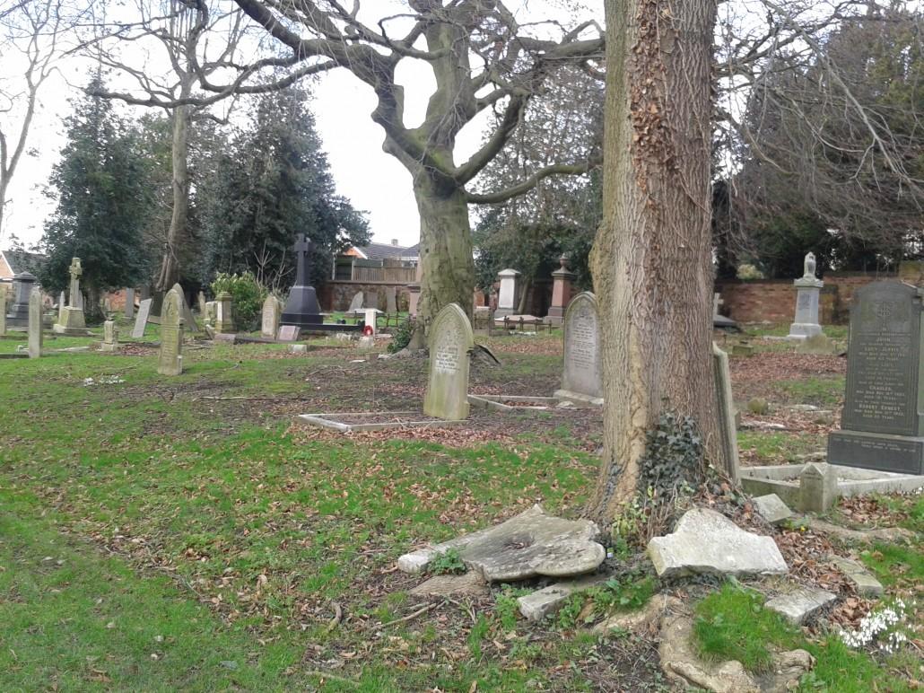Stanton Rd Cemetery Block A