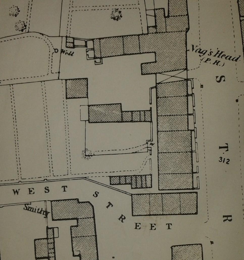 A row of six houses 1