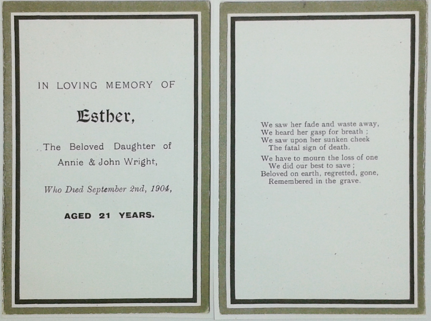 Esther Wright card 5