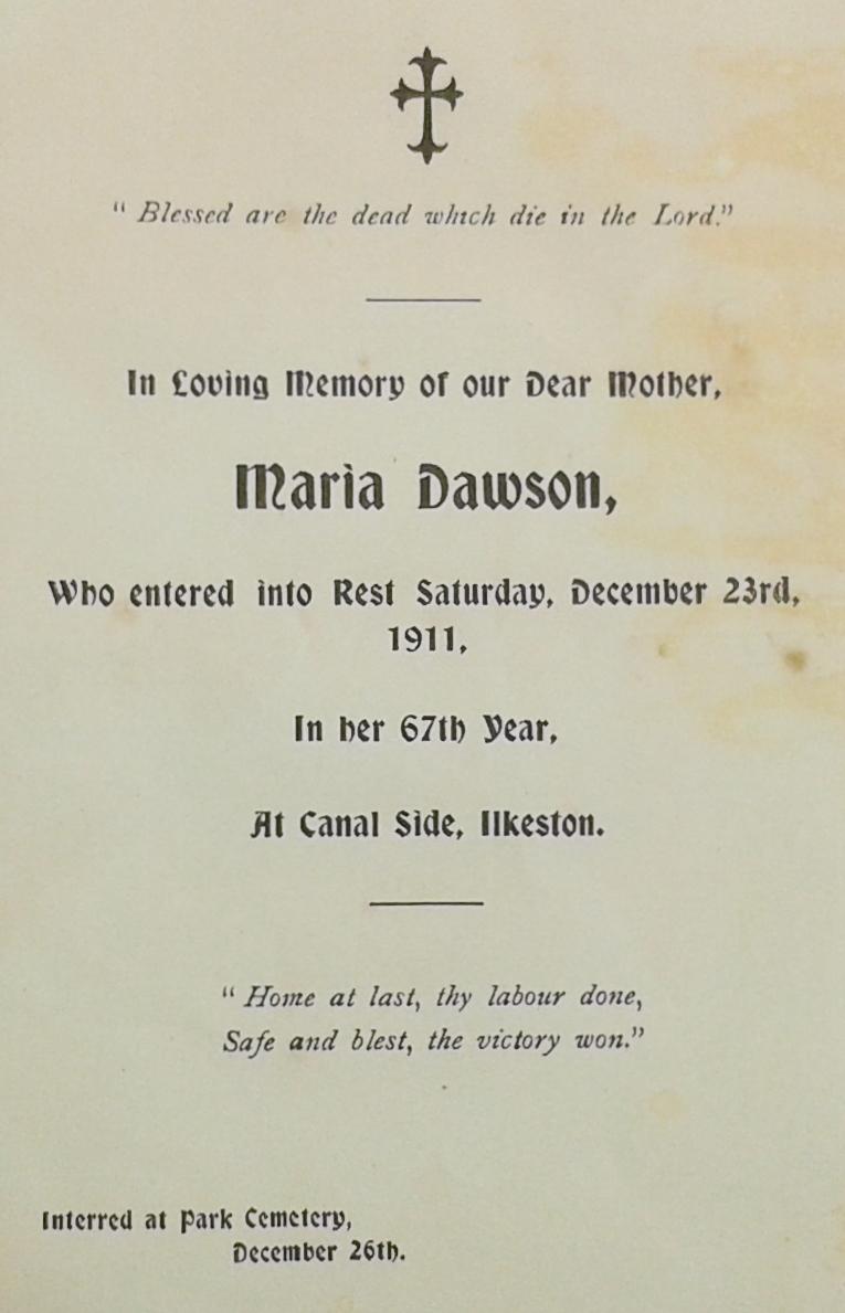 Maria Dawson card 8