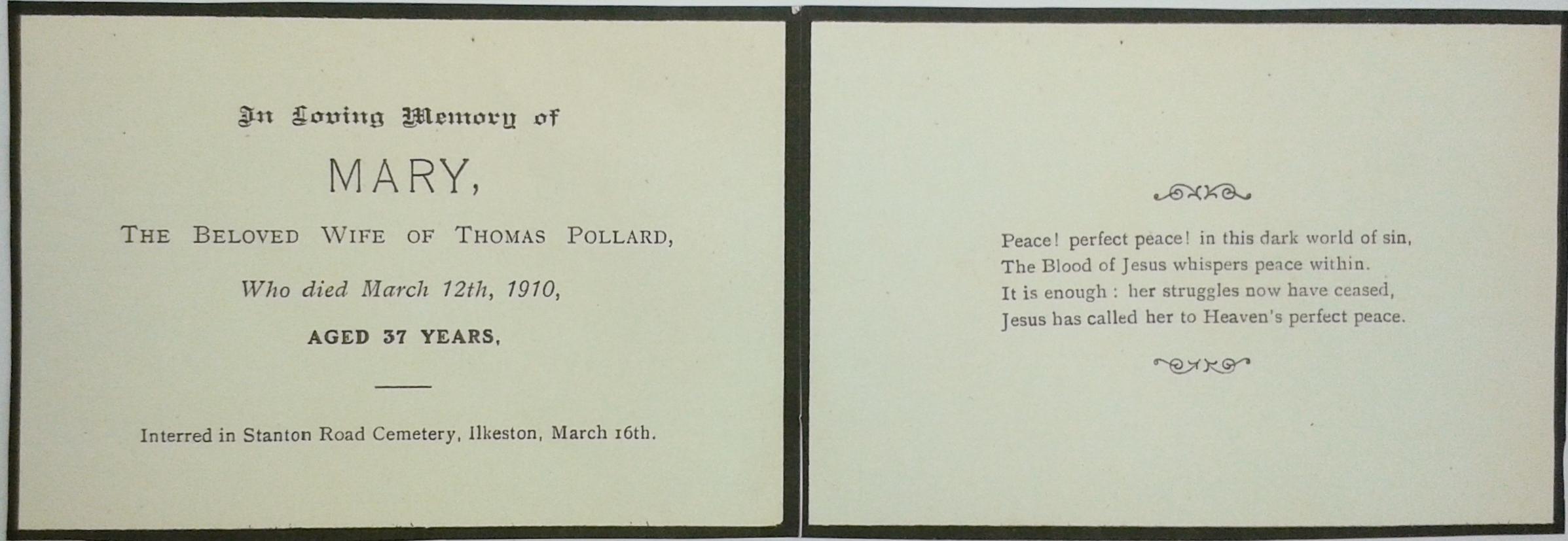 Mary Pollard card 7