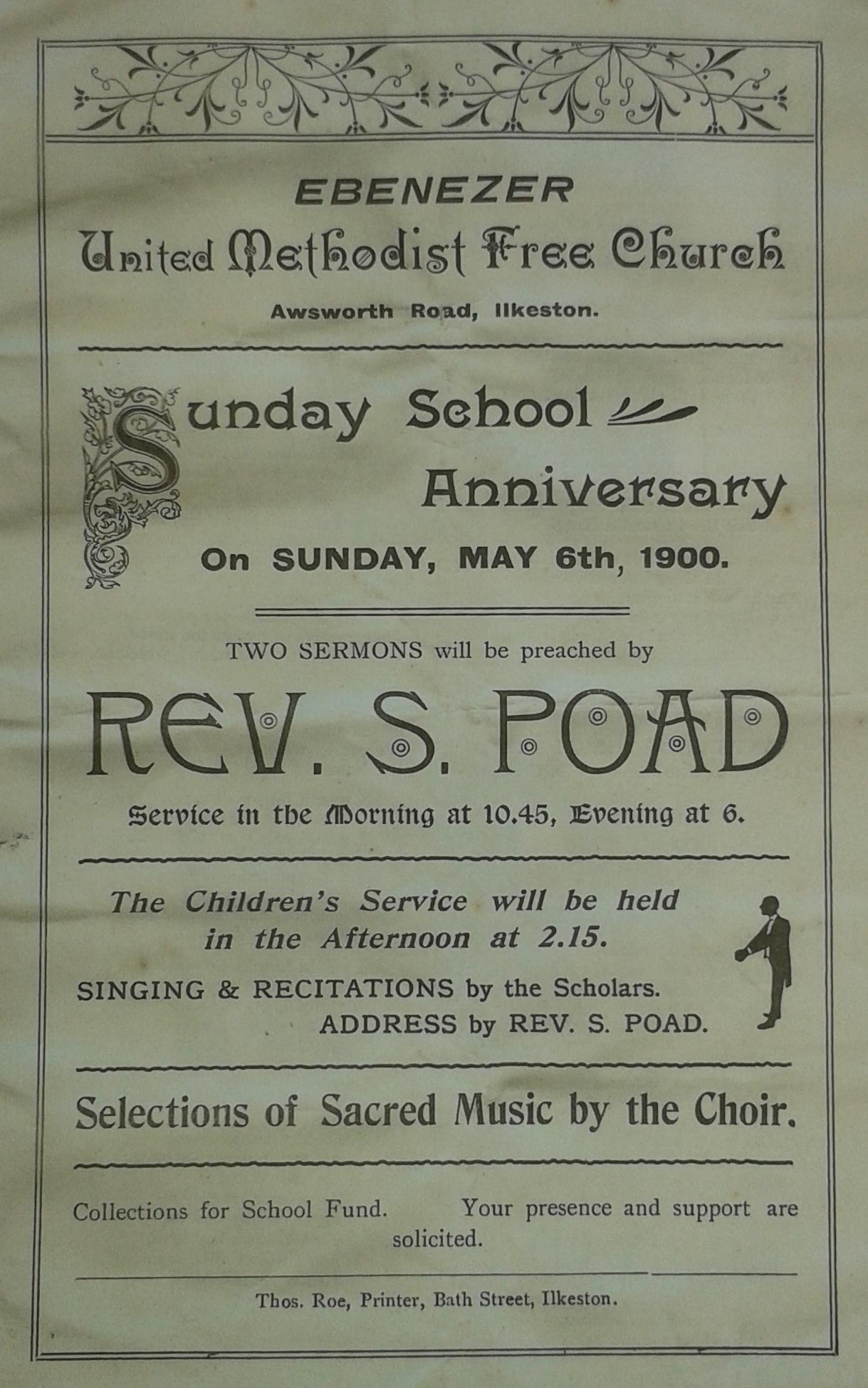 Samuel Poad 1900